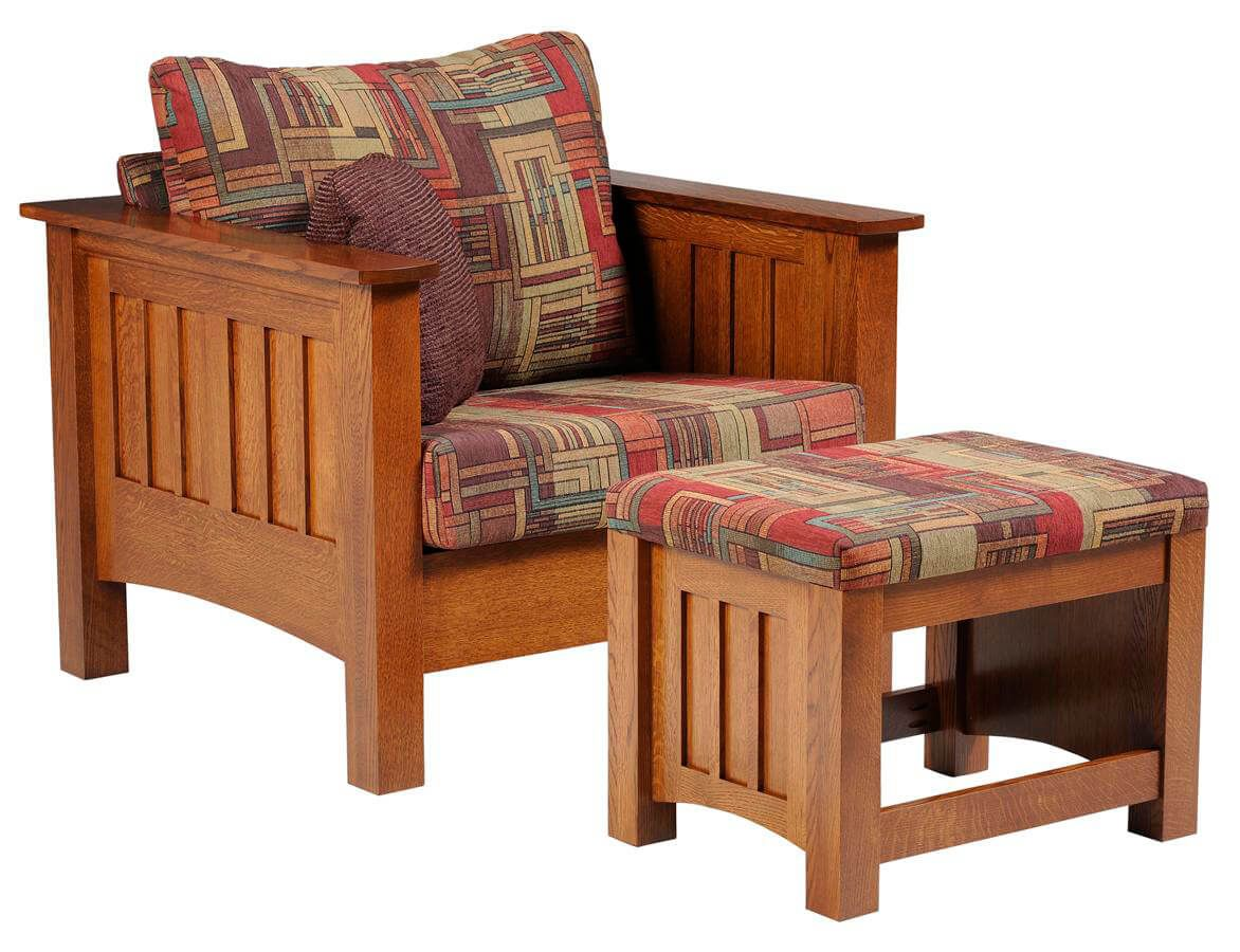 Arenas Valley Chair & Ottoman