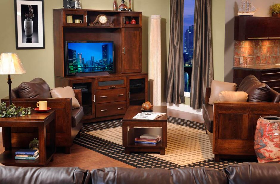 Cartier Modern Living Room Set - Countryside Amish Furniture