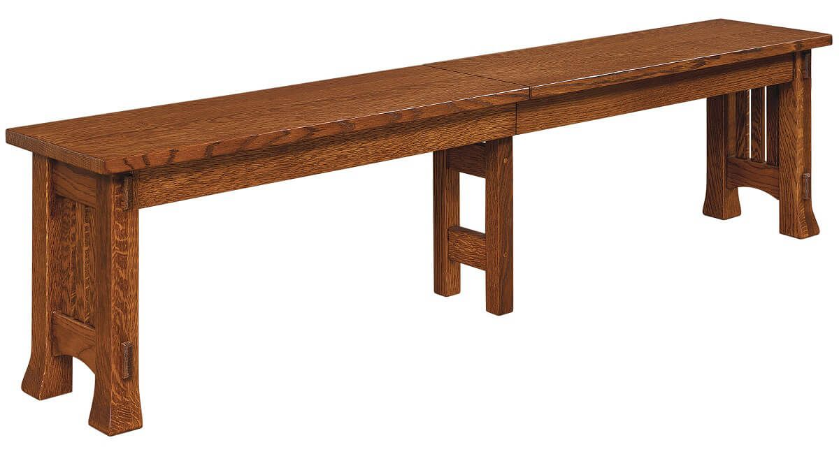 Adobe Mission Dining Bench