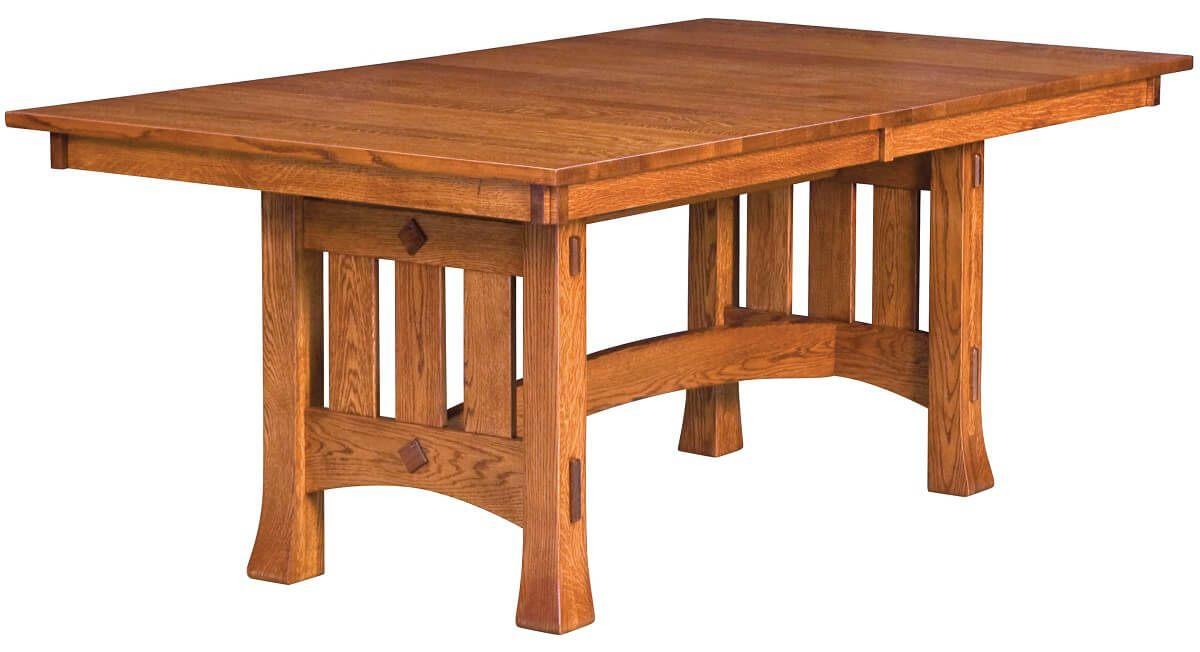 Adobe Mission Trestle Table
