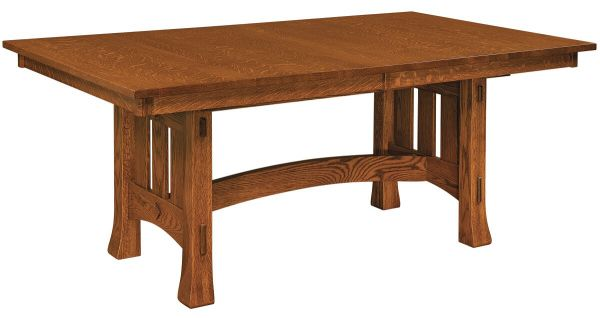 Adobe Mission Butterfly Trestle Table