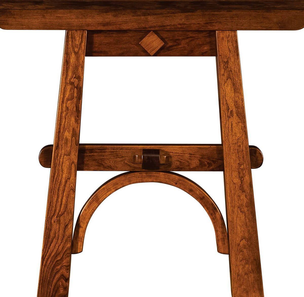 Hardwood Table Trestle