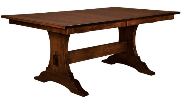 Sawyer River Craftsman Butterfly Leaf Table