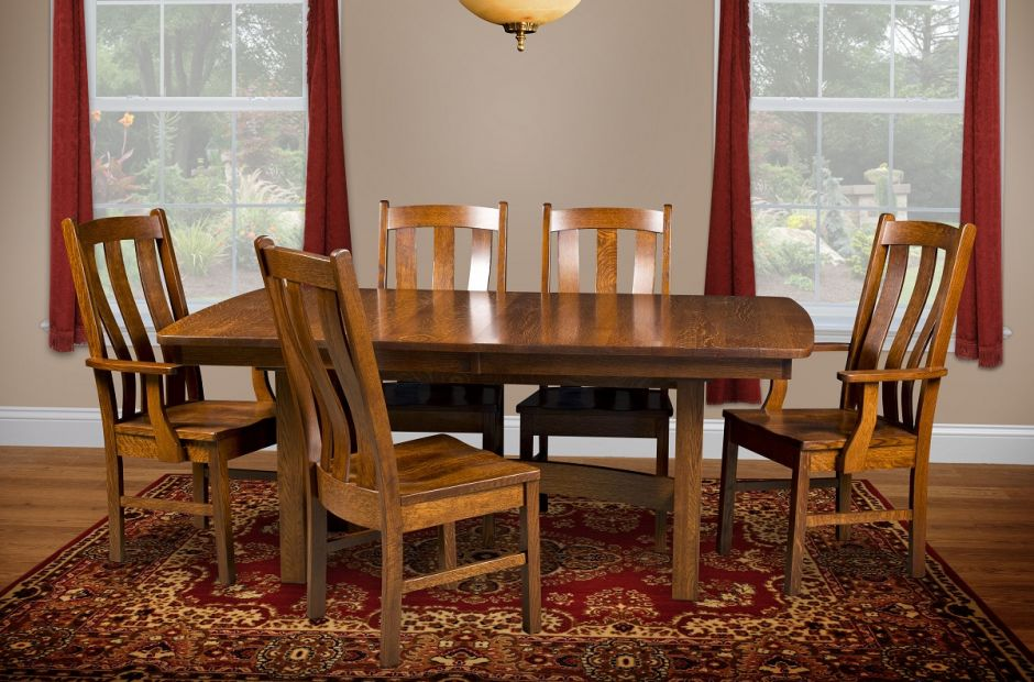 Arroyo Mission Dining Set image 1