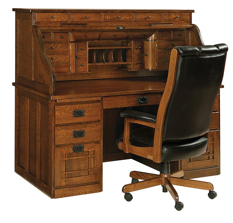 Computer Roll Top Desk